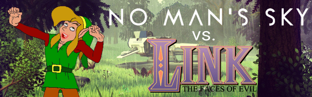 No Man's Sky vs. Link: The Faces of Evil
